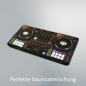 Perfekte Soundabmischung